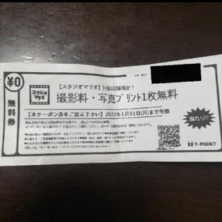 Kitamura - スタジオマリオ 撮影料無料 クーポン チケット お試し 無料券 無料お試し券