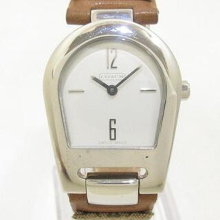 コーチ(COACH)のコーチ 腕時計美品  ミニシグネチャー柄(腕時計)