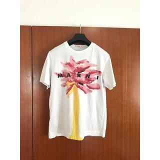 マルニ(Marni)のMARNI ロゴ Tシャツ(Tシャツ(半袖/袖なし))
