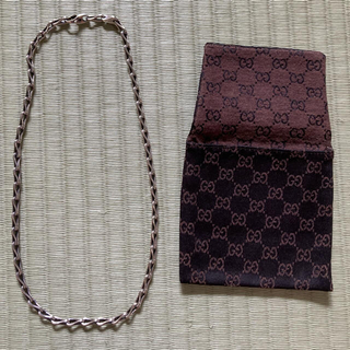 Gucci - GUCCI silverネックレス