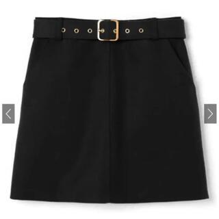 グレイル(GRL)のGRL 台形ミニスカート グレイル ベルト スカート(ミニスカート)