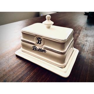 【お値下げ】バターケース 陶器 BTS  Butter