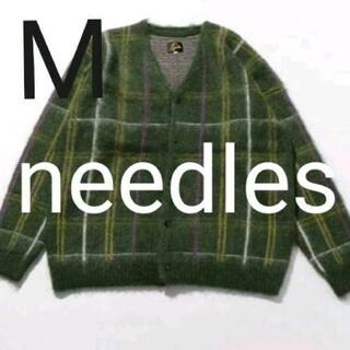 Needles - 21aw needles モヘアカーディガン Mサイズ  オリーブ