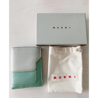 Marni - MARNI バイカラーミニ財布