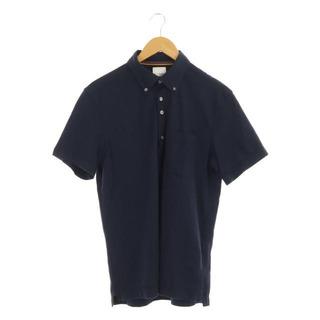 ポールスミス(Paul Smith)のポールスミス 18SS ポロシャツ 半袖 ボタンダウン L 紺 ネイビー(ポロシャツ)