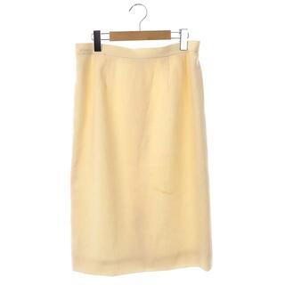 レオナール(LEONARD)のレオナール LEONARD タイトスカート 膝丈 72-96 スキンベージュ(ひざ丈スカート)