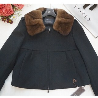 FOXEY - 定価20万♡未使用♡フォクシー♡ミンク襟ショートコート