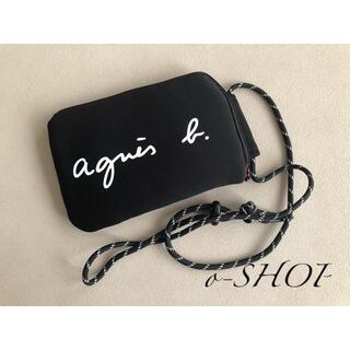 agnes b. - agnes b. アニエスベー マルチケース ブラック