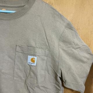 カーハート(carhartt)のCarhartt カーハート ベージュ Tシャツ 半袖(Tシャツ/カットソー(半袖/袖なし))