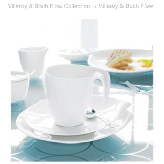ビレロイアンドボッホ(ビレロイ&ボッホ)のビレロイボッホ Villeroy&Boch フロウ flow カップ&ソーサー(グラス/カップ)