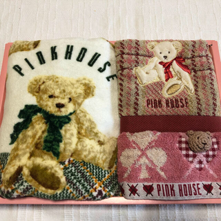 PINK HOUSE - P INKHOUSE  ピンクハウス フェイス タオル ウォッシュタオルセット