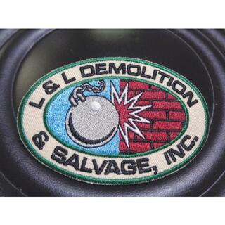 新品Demolition & Salvageアメリカ解体業サルベージ鉄球ワッペン(その他)