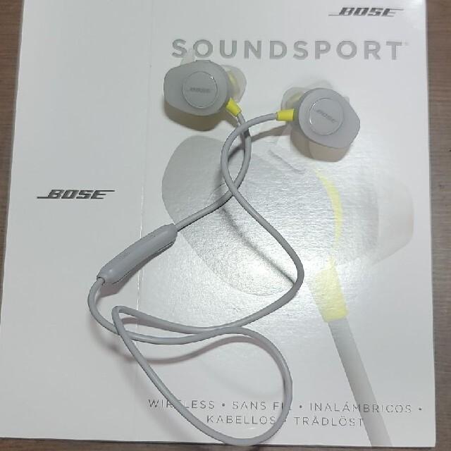 BOSE(ボーズ)のBose Soundsport  スマホ/家電/カメラのオーディオ機器(ヘッドフォン/イヤフォン)の商品写真