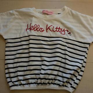 サンリオ(サンリオ)のハローキティ 半袖 子ども服 110 キッズ(Tシャツ/カットソー)