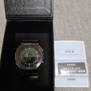 ジーショック(G-SHOCK)のturtle様専用 GM-2100B-3AJF グリーン傷あり(腕時計(アナログ))