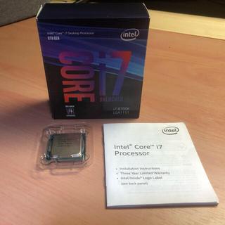インテル® Core™ i7-8700K プロセッサー。
