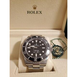 ROLEX - 新品未使用!ROLEX サブマリーナ Ref 124060 国内正規店購入