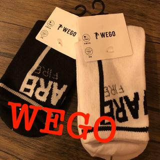 ウィゴー(WEGO)のWEGO 新品ソックス(ソックス)
