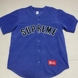 Supreme - Supreme Corduroy Baseball Jersey