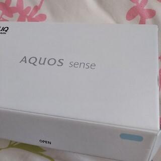 アクオス(AQUOS)の新品未使用 SHARP AQUOS sense SHV40(スマートフォン本体)