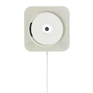 ムジルシリョウヒン(MUJI (無印良品))の無印良品 壁掛式CDプレーヤー 型番:CPD‐4(ポータブルプレーヤー)