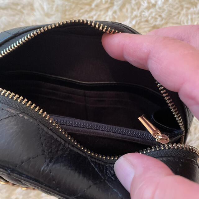 GYDA(ジェイダ)のyuu様専用 anela tokyo リアルレザーショルダーバッグ&ヘアクリップ レディースのバッグ(ショルダーバッグ)の商品写真