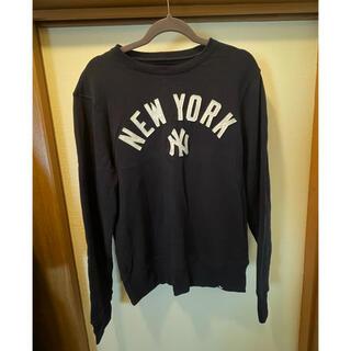 ロンハーマン(Ron Herman)のトレーナー ニューヨークヤンキース ロンハーマン 紺 大きめ(トレーナー/スウェット)