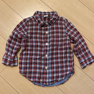ベビーギャップ(babyGAP)のギャップベビー チェックシャツ(シャツ/カットソー)