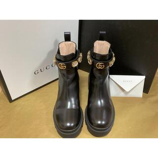 Gucci - 【値下げ不可】グッチ GUCCI ブーツ
