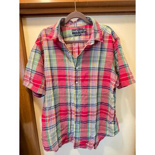 ポロラルフローレン(POLO RALPH LAUREN)のポロ シャツ チェック XLサイズ(ポロシャツ)