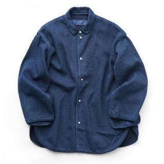 PORTER - 20AW Porter classic 剣道シャツジャケット ブルー
