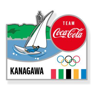 コカ・コーラ - コカコーラ 東京オリンピック ピンバッジ 都道府県 神奈川県