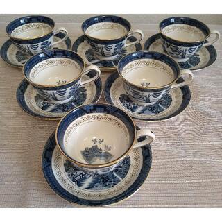 NIKKO - 値下げ! NIKKO 山水 コーヒー碗皿(6客)
