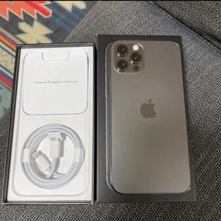 Apple - 【早い者勝ち】iPhone 12 pro グラファイト 128GB SIMフリー