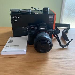 SONY - SONY ILCE−7M3 ILCE-7M3K レンズ&SD128GB付き