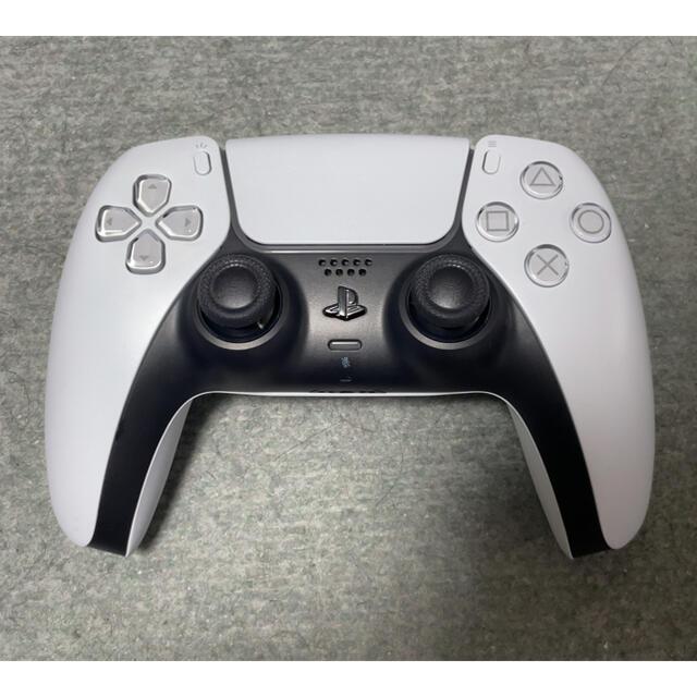 PlayStation(プレイステーション)のPS5 純正コントローラー エンタメ/ホビーのゲームソフト/ゲーム機本体(家庭用ゲーム機本体)の商品写真
