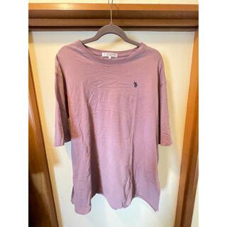 ポロラルフローレン(POLO RALPH LAUREN)のポロ ラルフローレン 紫 Tシャツ 大きめ(Tシャツ/カットソー(半袖/袖なし))