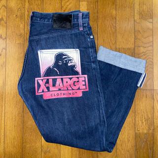 XLARGE - XLARGE ジーンズ 32インチ!