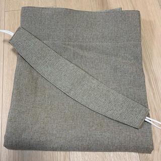 ムジルシリョウヒン(MUJI (無印良品))の無印良品 ノンプリーツカーテン 防炎 遮光(カーテン)