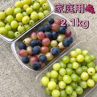 大量2.1㌔★家庭用つぶつぶ葡萄