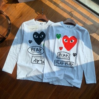 コムデギャルソン(COMME des GARCONS)の【二枚入り】COMME des GARCONS レディース 長袖 Tシャツ(Tシャツ/カットソー(七分/長袖))