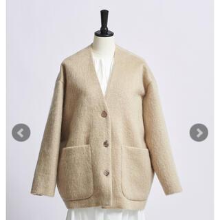 yori ウールモヘアシャギージャケット