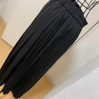 アクシーズファム(axes femme)のプリーツロングスカート(ロングスカート)