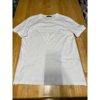 ゲス(GUESS)のGUESS ☆ White 立体ロゴTシャツ(Tシャツ/カットソー(半袖/袖なし))