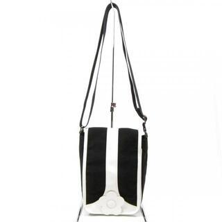 マリークワント(MARY QUANT)のマリークワント ショルダーバッグ - 黒×白(ショルダーバッグ)