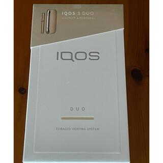IQOS - iQOS 3 DUO 本体 ゴールド 新品未開封