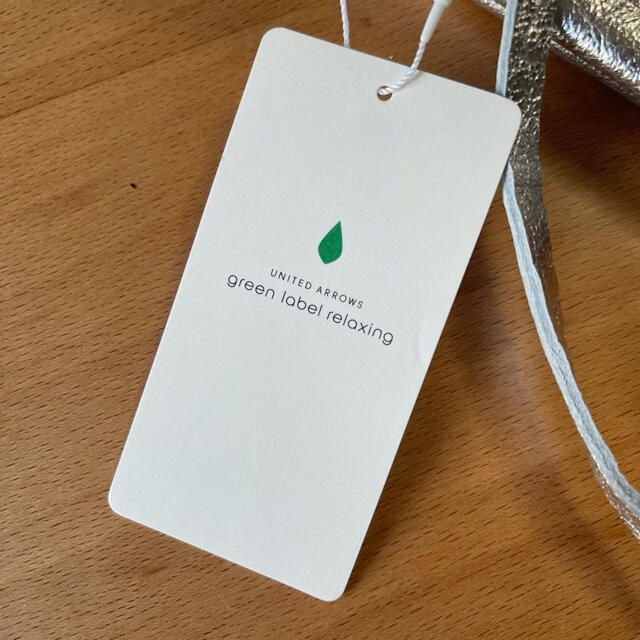 green label relaxing(グリーンレーベルリラクシング)のア・ラ・マルヴァ バッグ シルバー reen label relaxing 新品 レディースのバッグ(トートバッグ)の商品写真