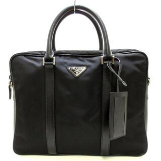 PRADA - プラダ ビジネスバッグ メンズ - VA0871 黒
