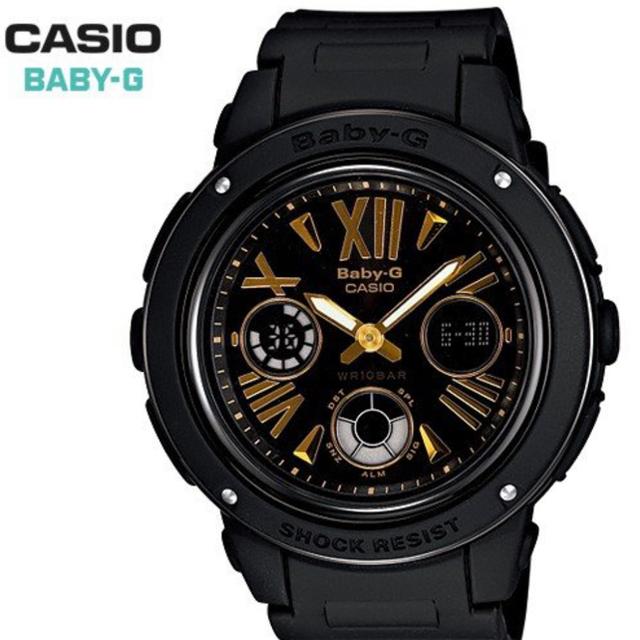 Baby-G(ベビージー)のCASIO  Baby-G  BGA-153-1BJF  G-SHOCK レディースのファッション小物(腕時計)の商品写真
