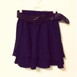 スカート(ひざ丈スカート)